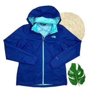 The North Face Blue Resolve Plus Rain Jacket Sz M